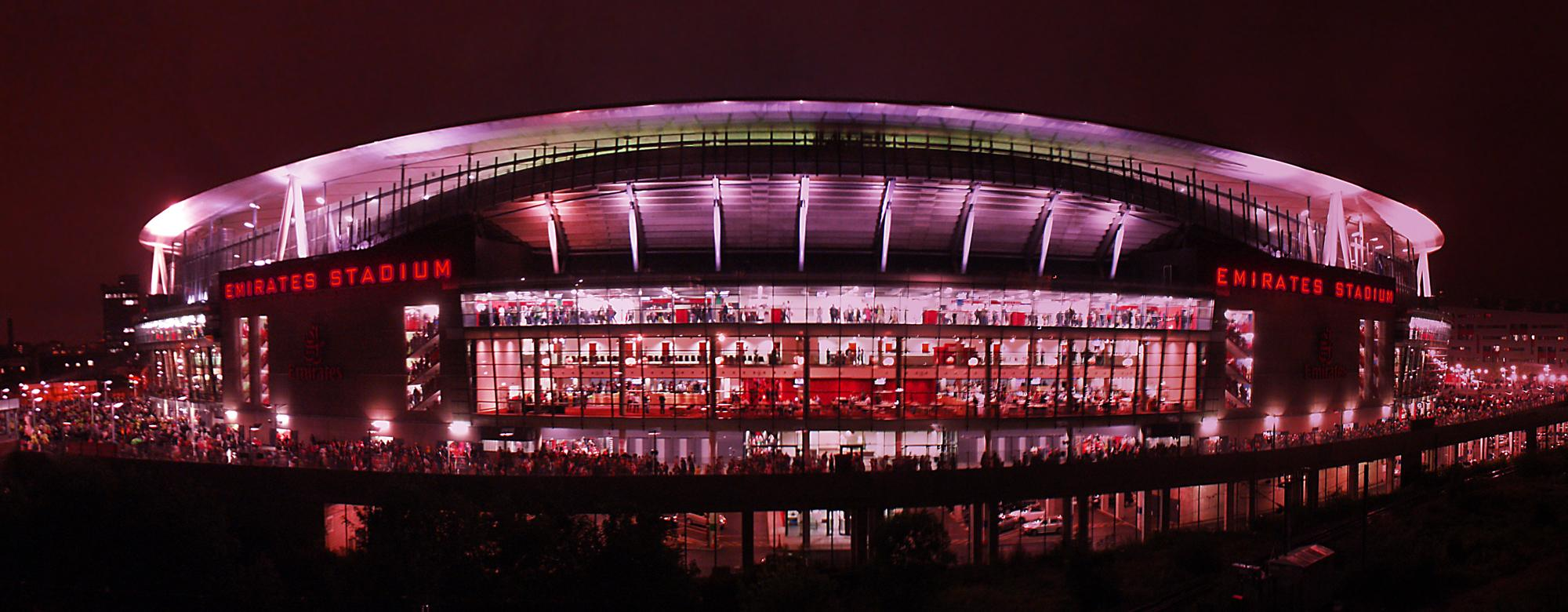 Emirates Stadium Exterior