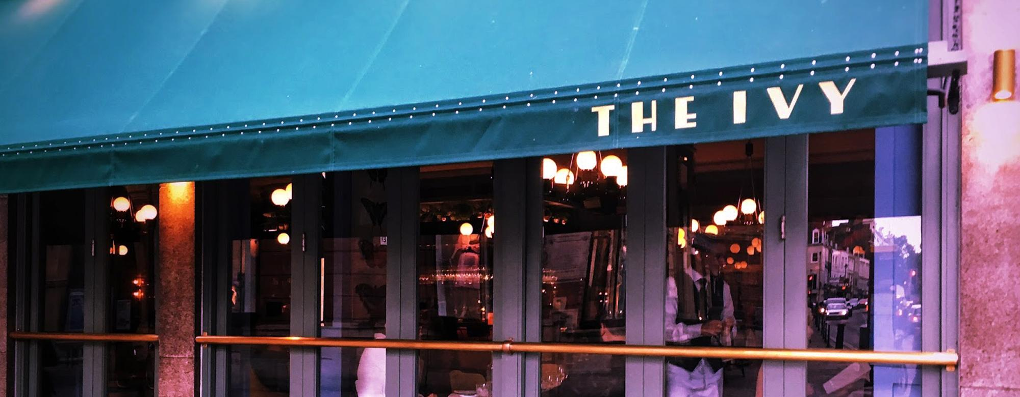 The Ivy Restaurant Exterior