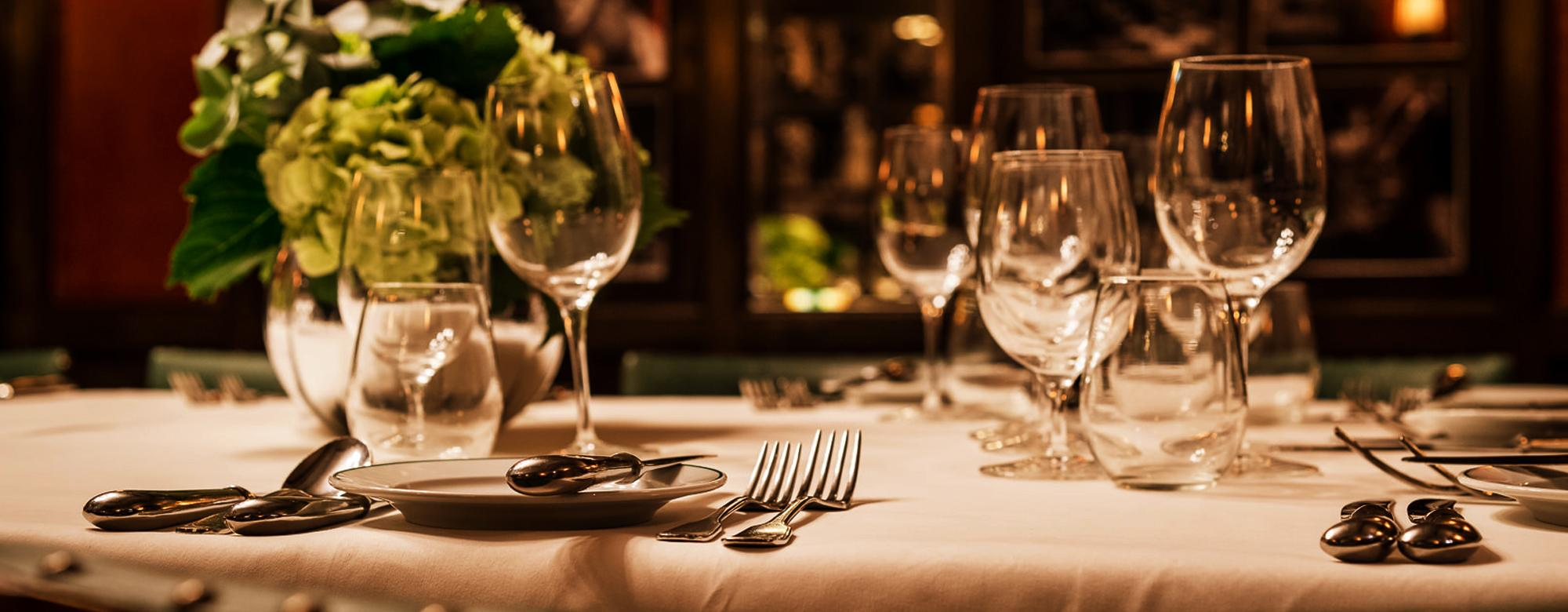 The Ivy Restaurant Interior