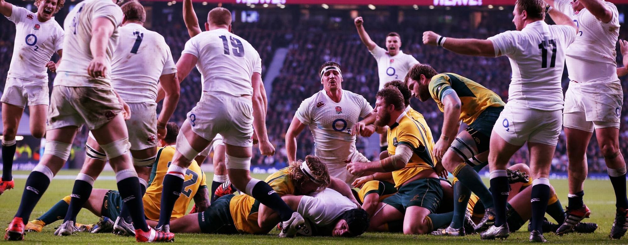 Rugby Match at Twickenham