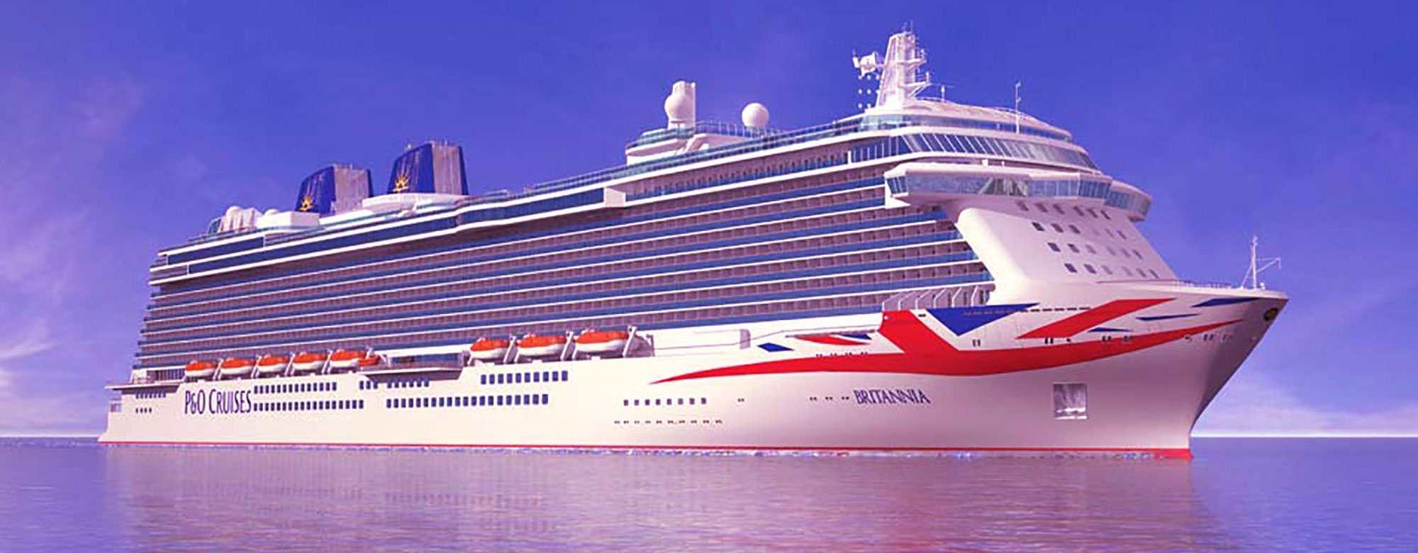 P & O Britannia cruise ship