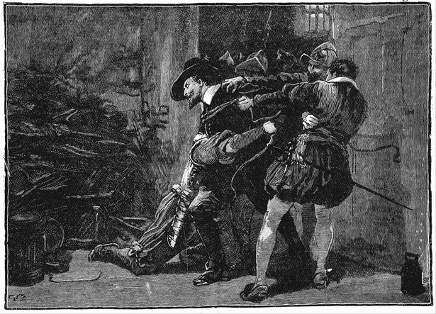 Guy Fawkes arrest