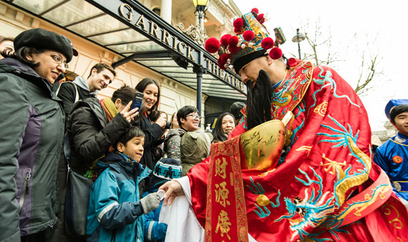 Garrick Theatre chinese new year