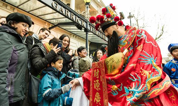 Garrick Theatre chinese new year