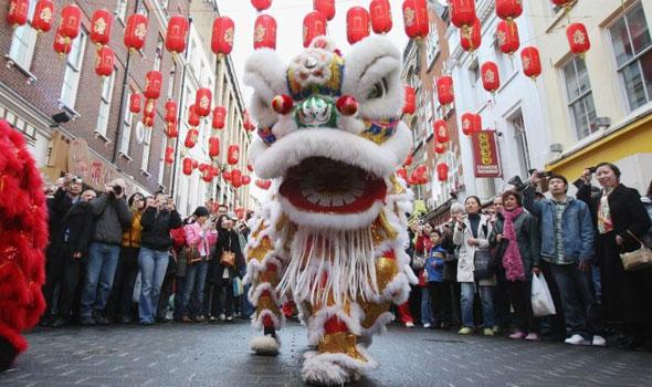 Gerrard street chinese new year